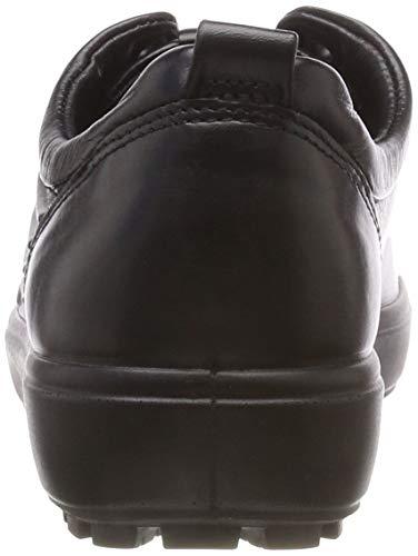 1001 para Tred Black Negro 7 Zapatillas L ECCO Soft Mujer ZvqwHa
