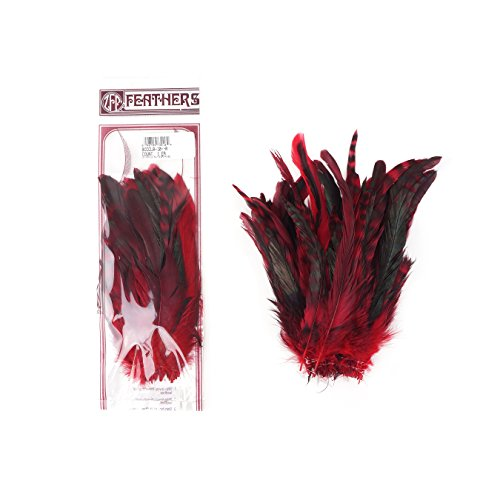 (Zucker Feather (TM) - Rooster Coque Tails-Chinchilla Red)