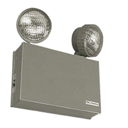 Lithonia Lighting ELT16 16W 6V Steel Emergency Lighting Unit, Beige by Lithonia Lighting