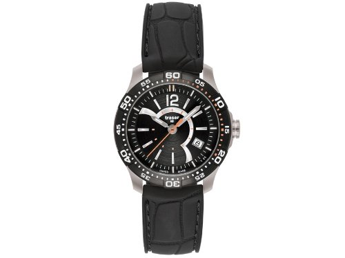 Traser H3 Ladytime Black Ladies Watch T7392.8A6.G1A.01 / 100304