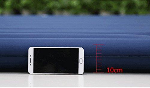 Amazon.com: Doble colchón hinchable dormir almohadilla de ...