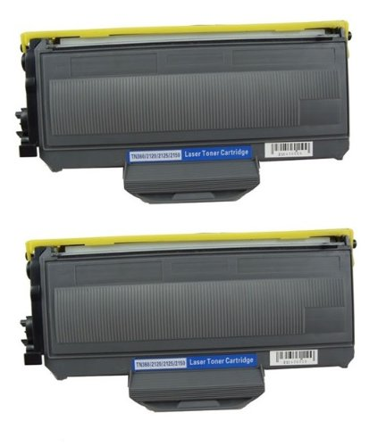 Speedy Inks - 2pk Compatible Brother TN360 TN-360 Black Toner Cartridge for DCP-7030, DCP-7040, DCP-7045N, HL-2140, HL-2150N, HL-2170W, MFC-7320, MFC-7340, MFC-7345DN, MFC-7345N, MFC-7440N, MFC-7840W