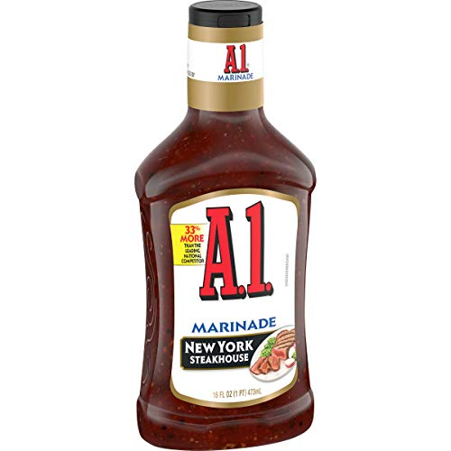 A.1. Steakhouse New York Marinade (16 oz Bottles, Pack of 6)