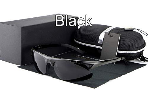 black del Sol Masculinas De De Gafas FKSW Hombres Los Sol nbsp;Marca De Negro De nbsp; Gafas nbsp;La Sol nbsp;Diseñador Polarizadas Gafas nbsp; De qxn4B6