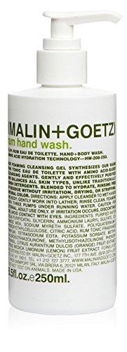 Malin + Goetz Hand + Body Wash, Rum, 8.5 Ounce