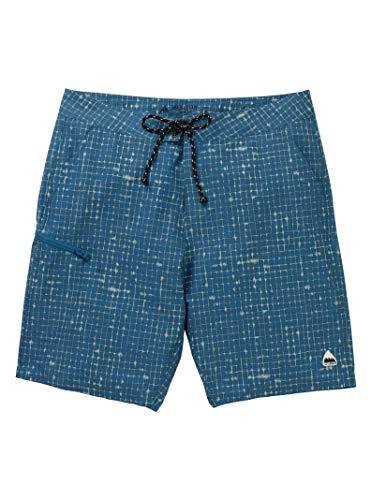 (Burton Men's Moxie Shorts, Blue Sapphire Ripstop, 32)
