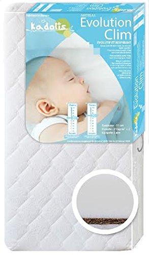 Kadolis bebé Colchón Evolución Clim blanca blanco blanco ...