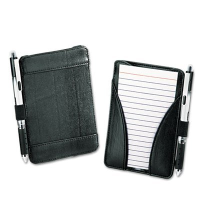 - Oxford : At-Hand Note Card Case Holds and Includes 25 3 x 5 Ruled Cards, Black -:- Sold as 2 Packs of - 1 - / - Total of 2 Each
