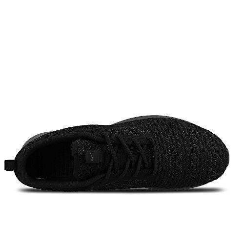 Nike Mens Roshe Nm Flyknit Se Loopschoen Zwart / Zwart / Midnight Fog