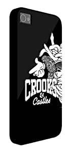 Crooks Castles iPhone 5 / 5S protective case (image shows iPhone 4 example)