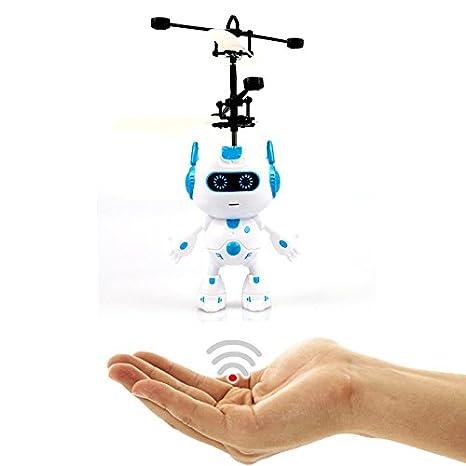 Volando Robot (Azul) – Super Held – Space Robot – Fácil controlar con la
