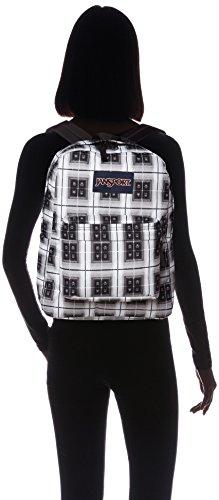 Black Arcade Unisex Superbreak Jansport Adult Backpack Plaid Black Label A0cYRq