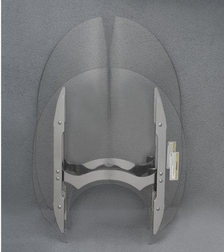 - Genuine Yamaha O.E.M. Raider Quick-Release Windshield Short Windshield (14