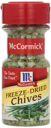 McCormick Freeze-Dried Chives, 0.16 oz (Sour Cream And Chives Mashed Potatoes Recipe)