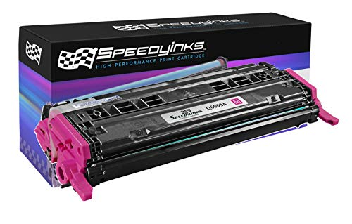 (Speedy Inks - Remanufactured Replacement HP 124A Q6003A Magenta Laser Toner Cartridge)
