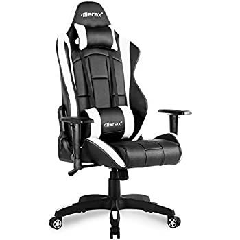 Amazoncom Merax Racing Gaming Chair High Back Desk Chair