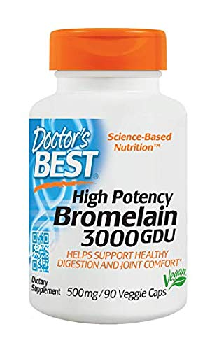 Doctor's Best 3000 Gdu Bromelain, 180-Count