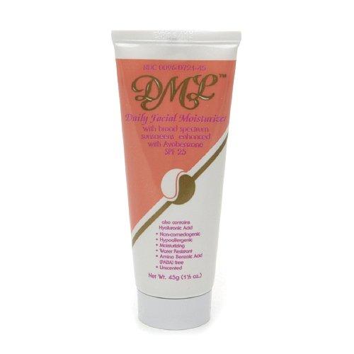 DML Daily Facial Moisturizer SPF 25 , Unscented 1.5 oz / 45 - Spf Moisturizing 25
