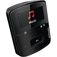 Philips SA4RGA02KFS/37 GoGEAR Raga Sport Pack MP3 Players - Black (Discontinued by Manufacturer)