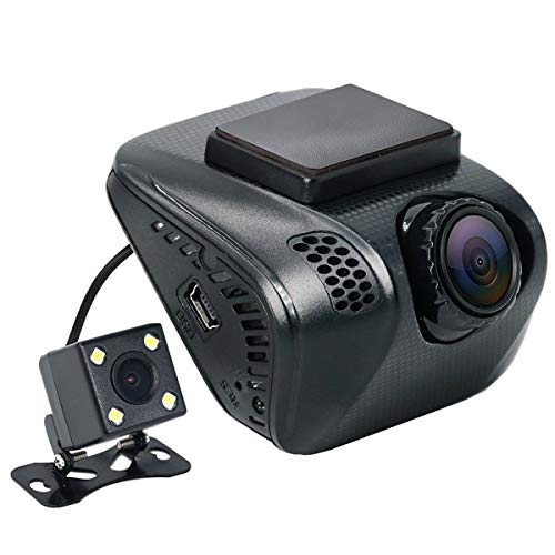 Acumen ACU-E100-0220X1 FHD 1080p Dual Dash Cam - Black