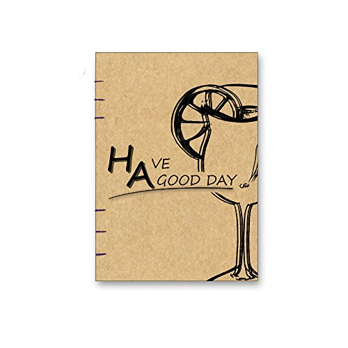 2017 gift christmas kraft hardcover Notebook, Sketchbook, Diary Handmade I Perfect Gift for Travel Journals, Sketching, Drawing,  More002