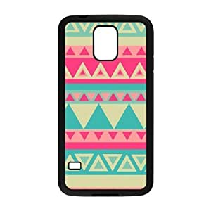 Aztec Tribal Pattern The Unique Printing Art Custom Phone Case for SamSung Galaxy S5 I9600,diy cover case ygtg536339
