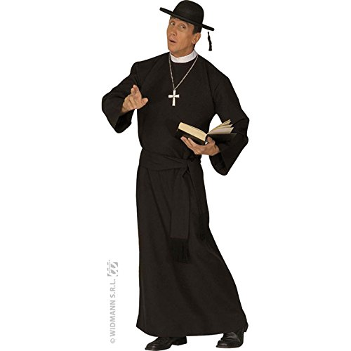 Mens Deluxe Priest Costume Large Uk 42/44