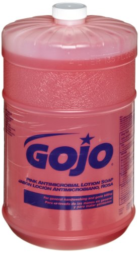 gojo-1845-04-pink-antimicrobial-lotion-soap-1-gallon-case-of-4
