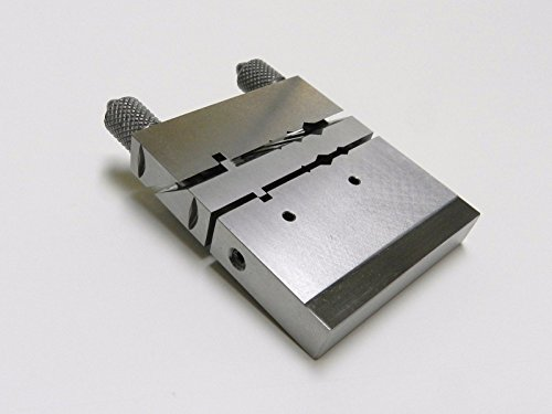 JIG VISE MITER TUBE CUTTER FILING BLOCK JEWELERS TOOL CHENIER TUBE SAW CUTTING (E 8) NOVELTOOLS