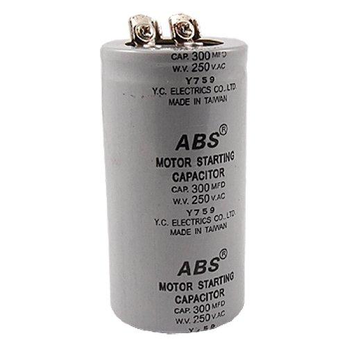 200MFD 200uF AC 250V Screw Terminal Motor Starting Capacitor HFJKCAci