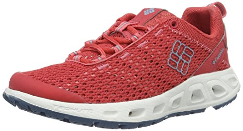 Columbia Damen Drainmaker Iii Trekking- & Wanderhalbschuhe, Rot (Sunset Red, Dark Mirage 683)