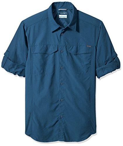 Columbia Men's Silver Ridge Long Sleeve Shirt, XX-Large, Phoenix Blue by Columbia