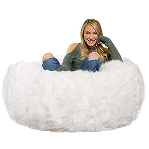 c358735f4a32 Amazon.com  Comfy Sacks 4 ft Memory Foam Bean Bag Chair