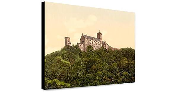WARTBURG CASTLE GERMANY LANDSCAPE POSTER Art Fabric HD PRINT Wall Decor