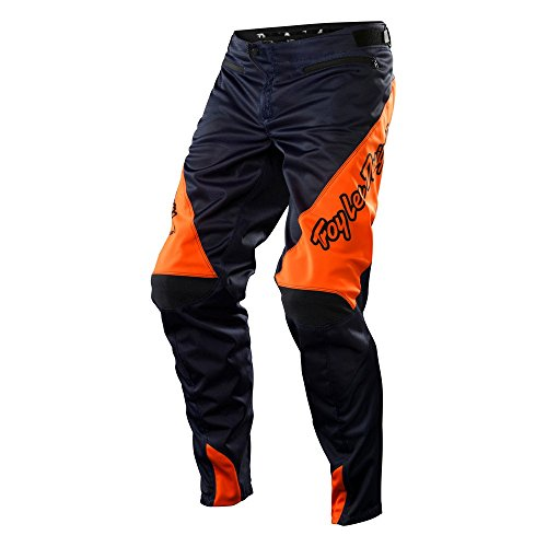Troy Lee Designs Sprint Men's Bike Sports BMX Pants - Navy/Orange / Size 38 by Troy Lee Designs