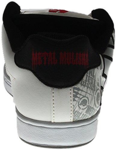 Etnies Etnies Mns Fader FADER-M - Zapatillas para hombre, color negro, talla White Black Red
