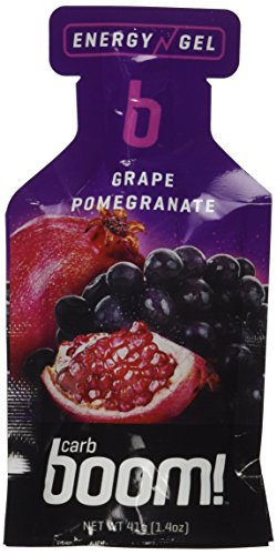 Carb Boom! Energy gel grape pomegranate - 24 pack by Carb Boom