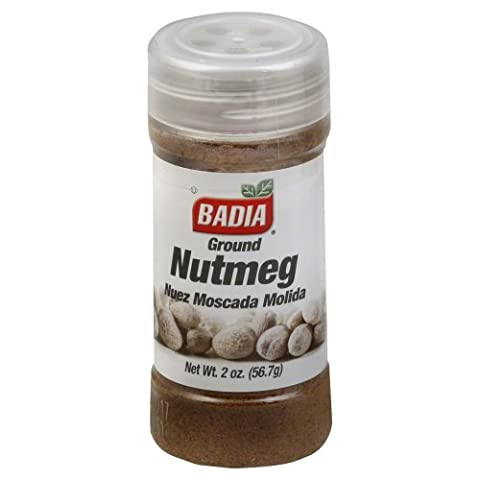 BADIA GROUND NUTMEG 2 0Z CONTAINER-ONE PER PACKAGE (NUTMEG) - Nutmeg Spice