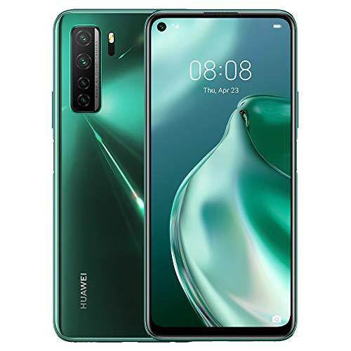 HUAWEI P40 Lite 5G – 128 GB 6.5″ Smartphone with Punch FullView Display, 64 MP AI Quad Camera, 4000 mAh ,40W SuperCharge, 6 GB RAM, SIM-Free Android Mobile Phone, Dual SIM, Crush Green