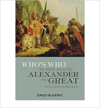 Ilmainen koko tekstikirja ladataan Who's Who in the Age of Alexander the Great: Prosopography of Alexander's Empire (Paperback) - Common B002A7KPG0 Suomeksi PDF