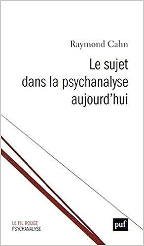 Le sujet dans la psychanalyse aujourdhui : Suivi de Temps originaires et création ou La Joconde, encore Le fil rouge: Amazon.es: Philippe Gutton, ...
