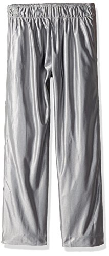 Intensity Unisex Youth Dazzle Tear Away Pant, Silver, Small (Cloth Dazzle Youth)