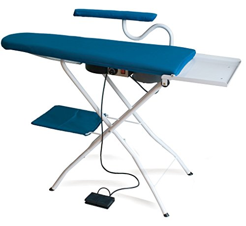 EOLO professional ironing board thermoaspirating and blowing motor AS01 with iron sleeves arm 230 Volts (before order on request 110-120 Volts)