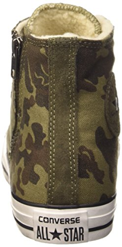 Green Hi Zip Adulto unisex S Converse Shear Canv Cm Sneaker Sue Side chocolate Rvq5x5U6g