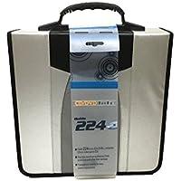 224 Capacity CD / DVD Binder / Storage Wallet / Carrying Tote