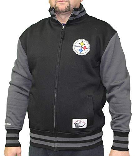 - Mitchell & Ness Pittsburgh Steelers NFL Men's Varsity Full Zip Fleece Jacket
