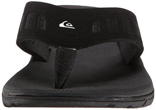 3 Sandal Point Uomo Ag47 Flux Solid Black Quiksilver 7wqtpBfn