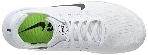 Free Hombre 2018 black Blanco Rn white Para De Zapatillas 100 Running Nike dq0aRwd