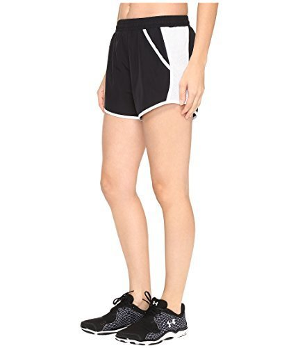Pantalón Negro Fly Mujer Armour blanco Under By Corto Short RZIwdBq