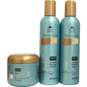 Avlon Keracare Dry Itchy Scalp Moisturizing Shampoo & Conditioner and Glossifier Set